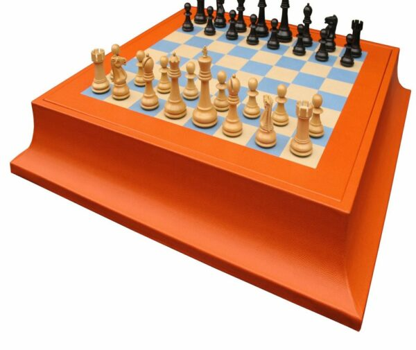 Custom Chess Set | Staunton chess set | Luxury Chess Set | Geoffrey Parker Chess Set | Luxury Games