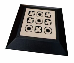 Luxury Tic Tac Toe | noughts and crosses;