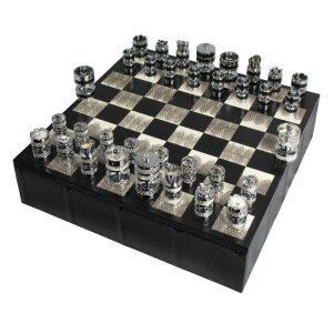 Luxury Chess set | Watersnake Chess Set | Geoffrey Parker Chess Set