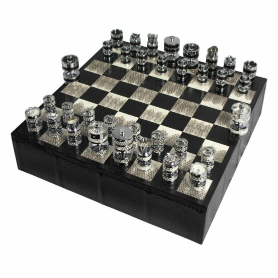 Luxury Chess set | Watersnake Chess Set | Geoffrey Parker Chess Set