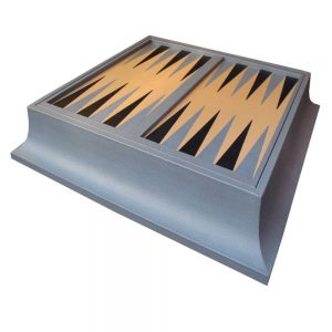 Luxury Backgammon | Multi Game Plinth | Luxury Monopoly | Luxury Scrabble