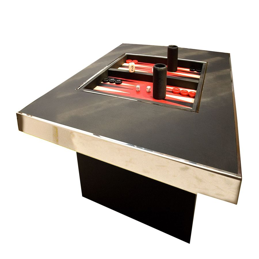 multi game coffee table geoffrey parker luxury game tables. Black Bedroom Furniture Sets. Home Design Ideas