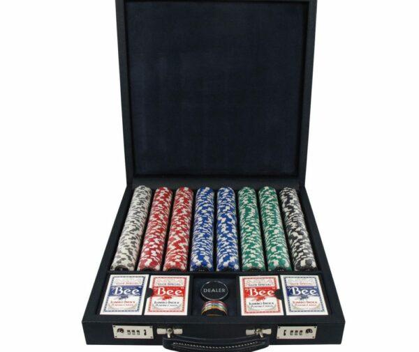 Luxury Poker Set | Professional Poker Set | Geoffrey Parker Poker Set