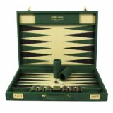 Luxury Backgammon Set | Backgammon board | Luxury Leather Backgammon | Custom Backgammon