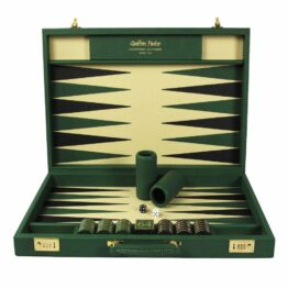Luxury Backgammon Set | Backgammon board | Luxury Leather Backgammon | Custom Backgammon