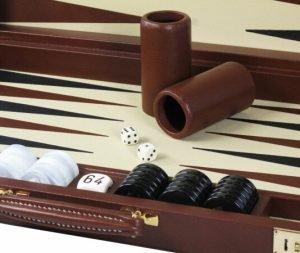 Full Leather Backgammon | Luxury Backgammon | Leather Backgammon | Custom Backgammon