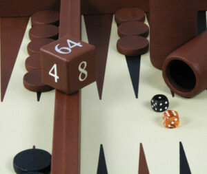 Full Leather Backgammon   Luxury Backgammon   Leather Backgammon   Custom Backgammon