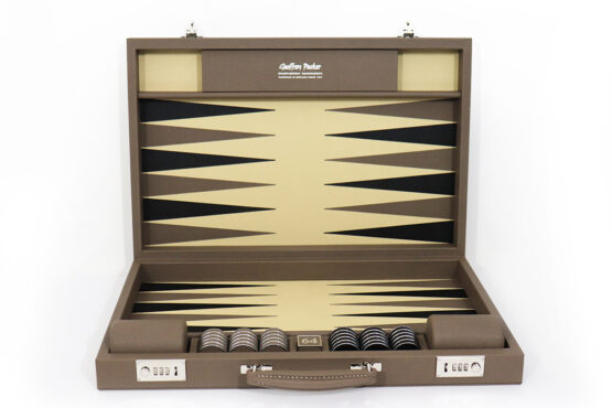 Geoffrey Parker Stock Backgammon Set