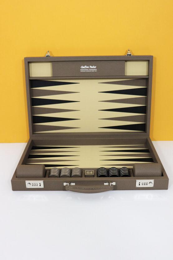 Geoffrey Parker Backgammon set