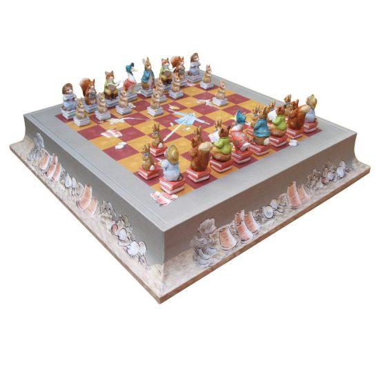 Luxury-childrens-chess-set-Peter-Rabbit-Beatrix-Potter-chessboard